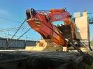 Крепление и отправка на универсальной платформе экскаватора HITACHI ZX200-5G